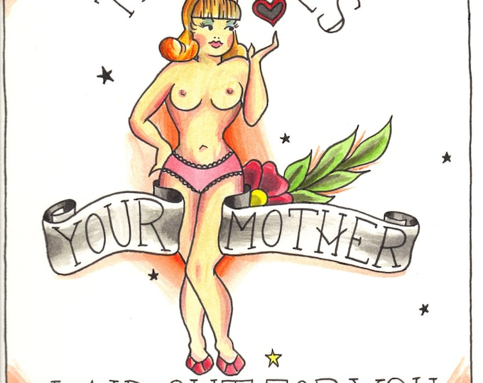 Your Mother print - Seinfeld inspired