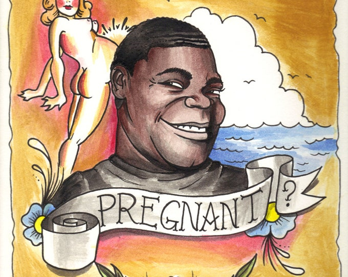 Pregnant print