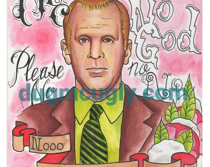 Why God - Toby Flenderson - Print - Art based on the Office