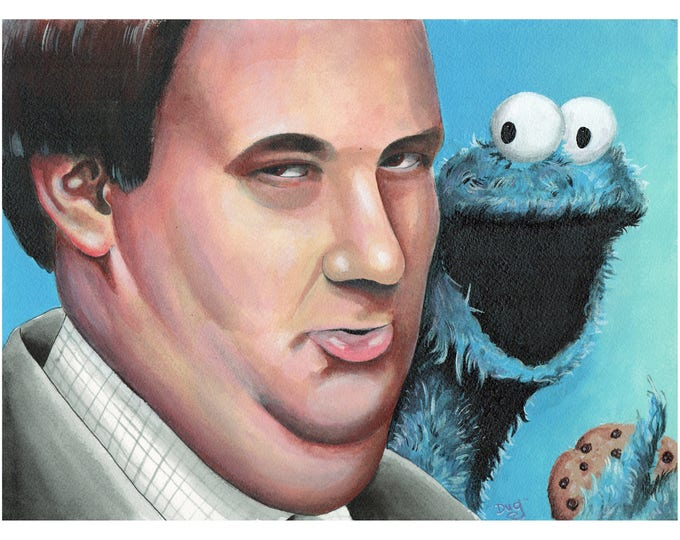 He lives on Sesame Street dumb a** - Kevin Malone - the Office