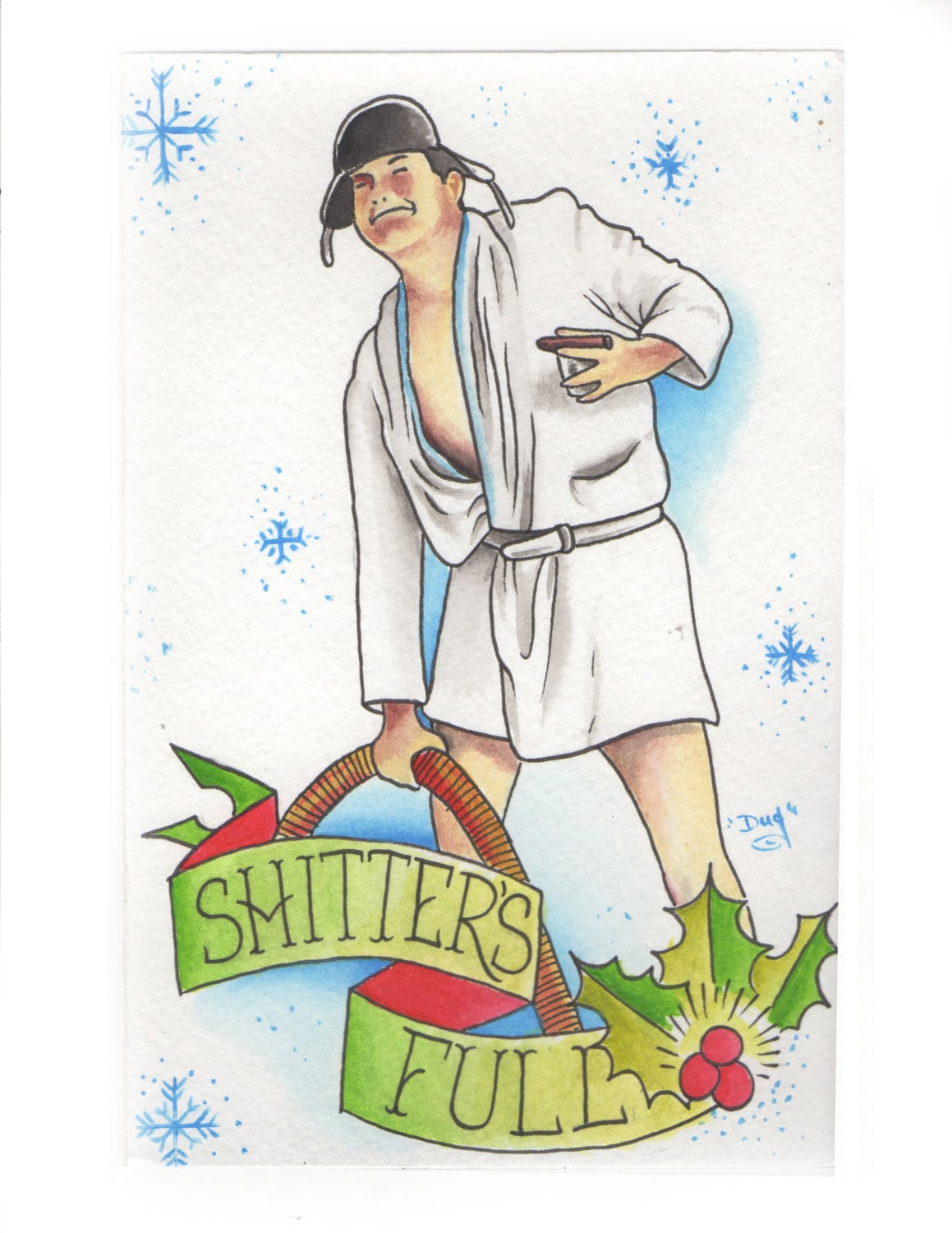 Cousin Eddie Art Based On The Movies National Lampoons