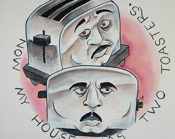 Two Toasters! - Stanley Hudson - the Office