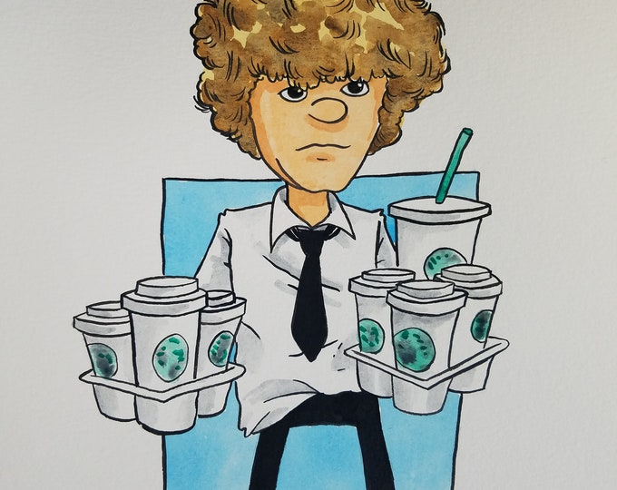 Coffee Run! - Luke Cooper - the Office