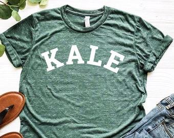 ce9bc0ca7 Kale Shirt - Kale University - Kale Tshirt - Vegan Shirt - Vegetarian Shirt  - Kale Yeah - Brunch Shirt