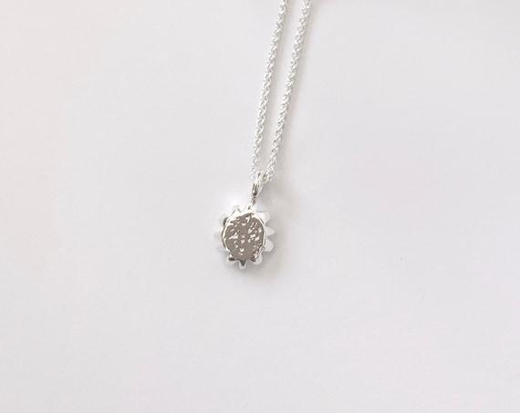 SUN silver pendant