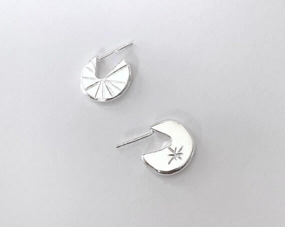 SKY silver earrings