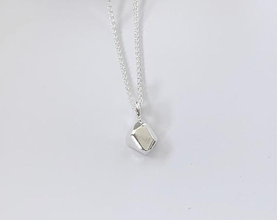 SAND silver pendant