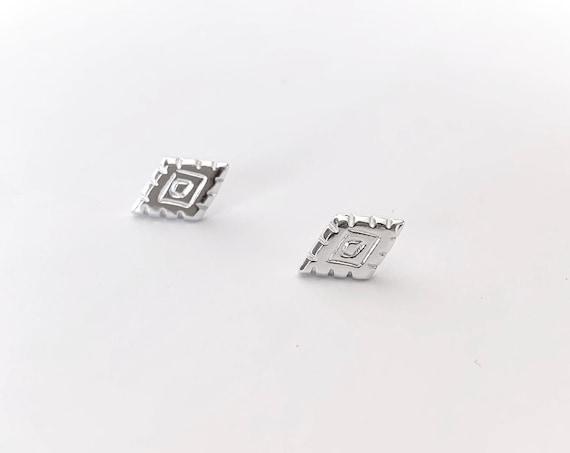 SALT silver earrings