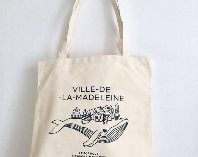 Tote bag VILLE-DE-LA-Madeleine