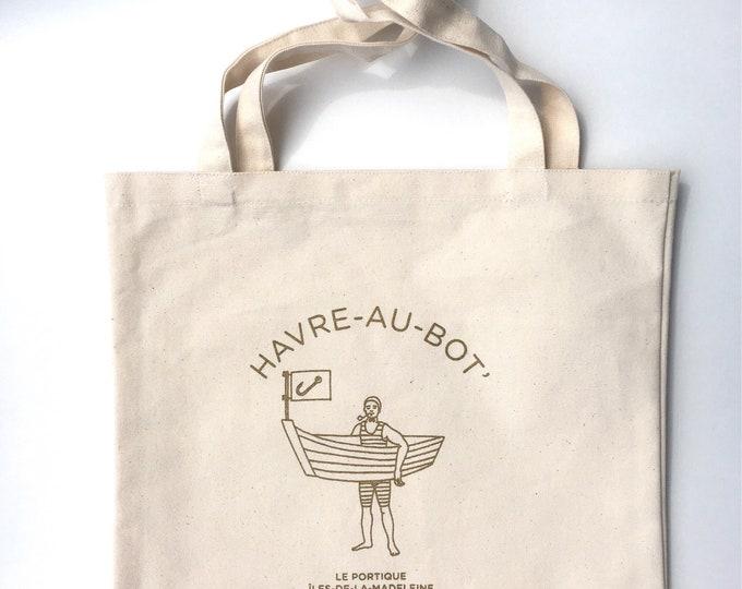 Tote bag HAVRE-AU-BOT'