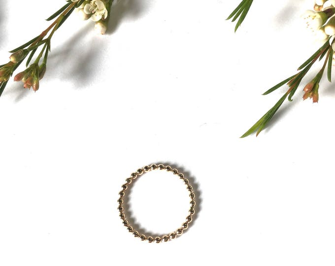Pearl gold filled Bangle yellow gold