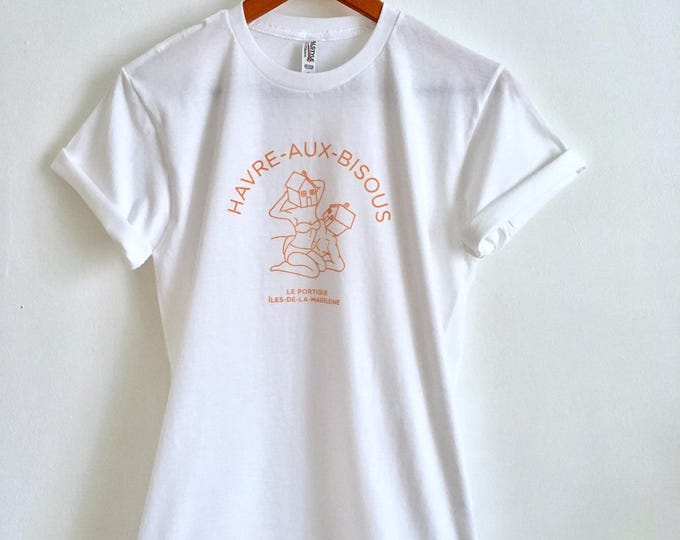 Unisex T-shirt HAVRE-AUX-BISOUS