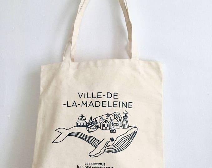 Tote bag Madeleine city