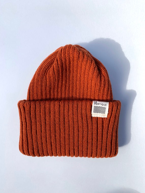 Adult maritime tuque - rust