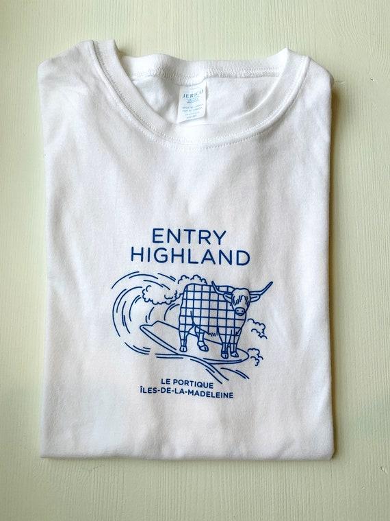 T-shirt ENTRY HIGHLAND
