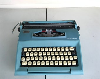 Smith-Corona Courier typewriter