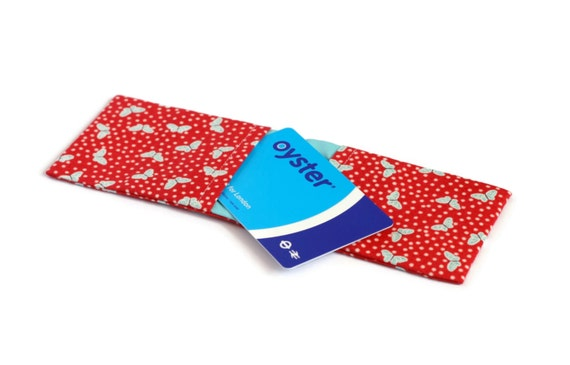 Credit card wallet oyster card holder business card case etsy image 0 colourmoves