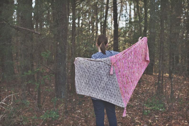 April fool Shawl Knitting Pattern PDF image 0