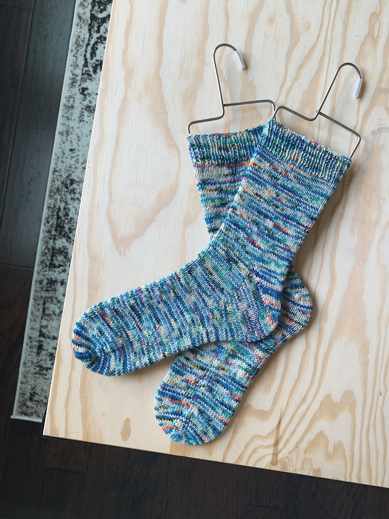 Tried and True Sock Knitting Pattern PDF image 0