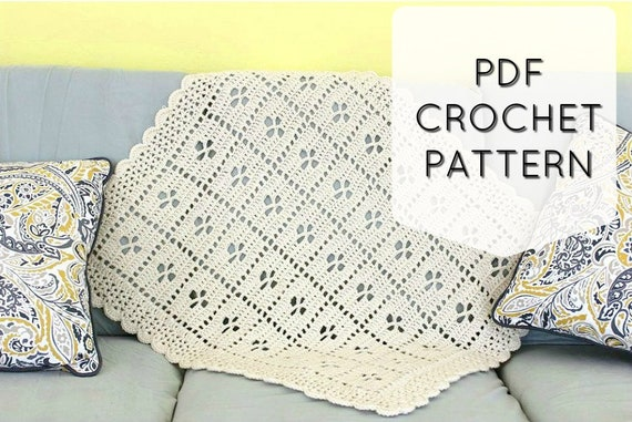Call The Midwife Afghan Crochet Blanket Pattern Pdf Etsy