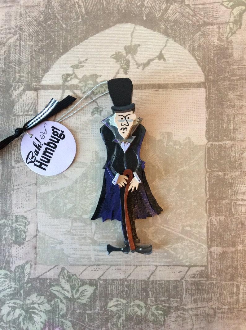Ebenezer Scrooge Christmas Carol Characters.Ebenezer Scrooge Charles Dickens A Christmas Carol Bah Humbug Custom Ornament Or Decoration