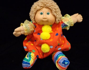 1982 Cabbage Patch girl in clown costume