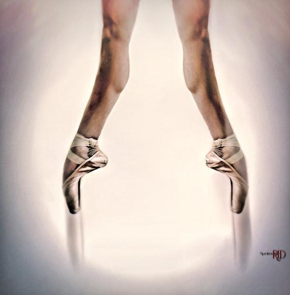 Releve Ballet Art Print Ballerina Pointe Etsy
