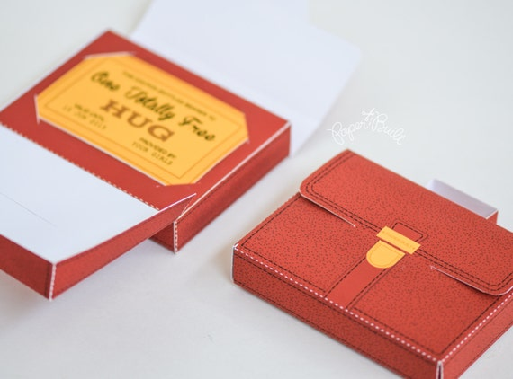 Briefcase Gift Card Box For The Graduate New Job Gift Idea