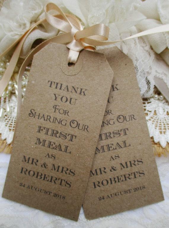 50 Hochzeit Serviette Krawatten Hochzeit Tisch Dekor Tags Etsy