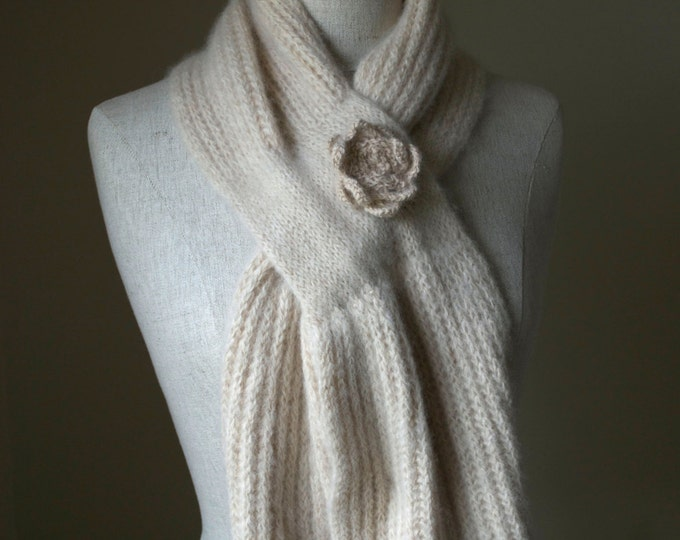 Pattern - Judy's Alpaca Scarf to Knit