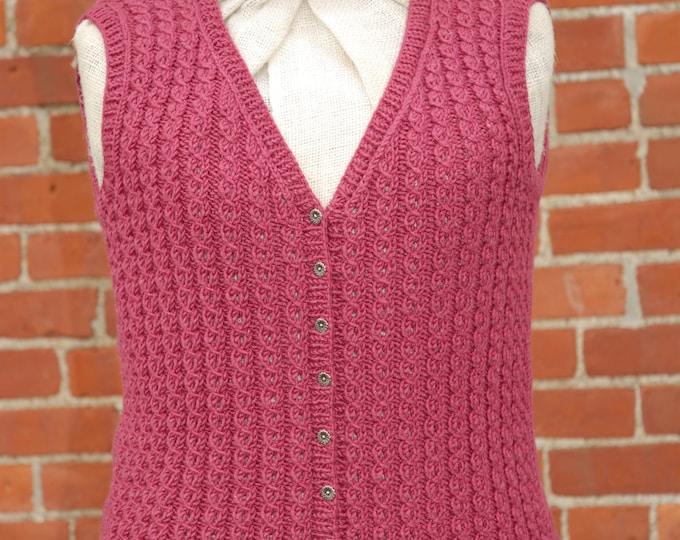 Pattern - Cascais Vest Pattern to Knit