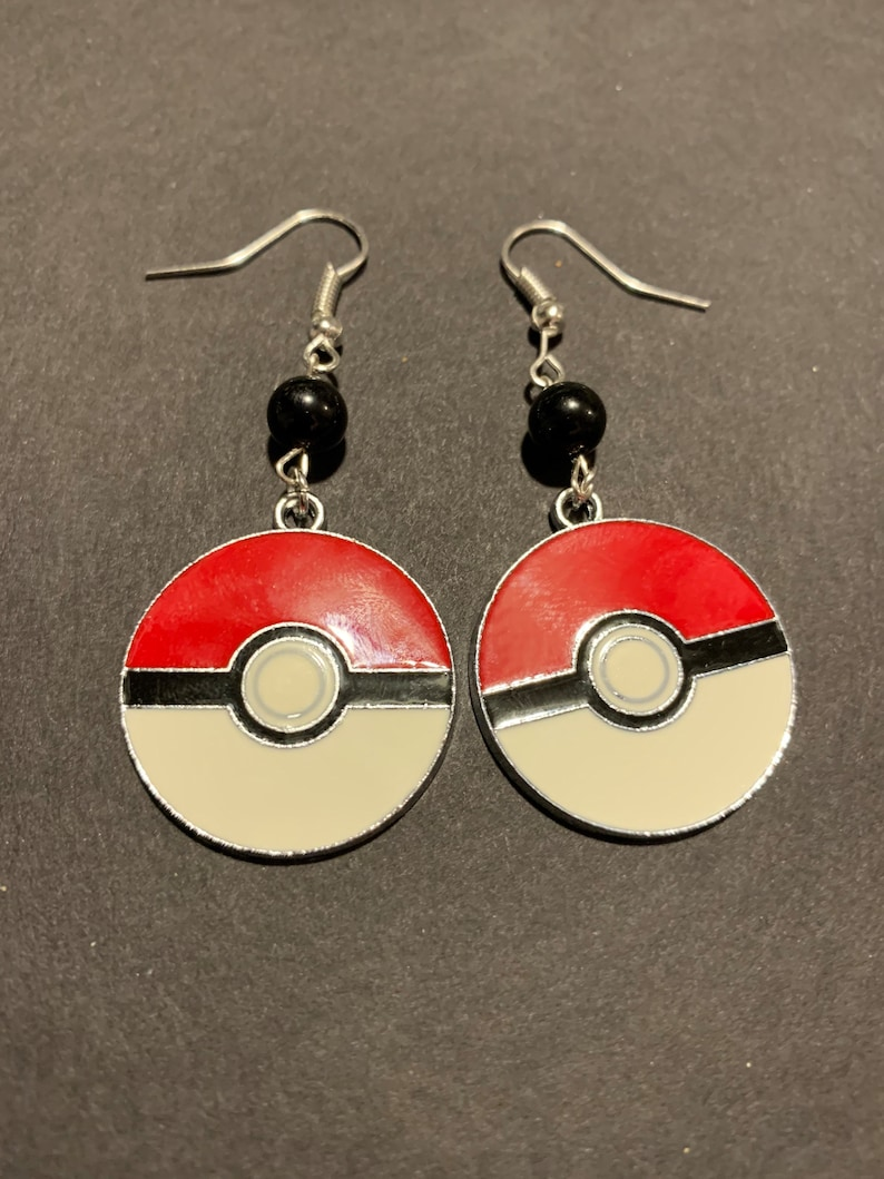 Pokémon Earring Duo: Pikachu & Pokeball image 0