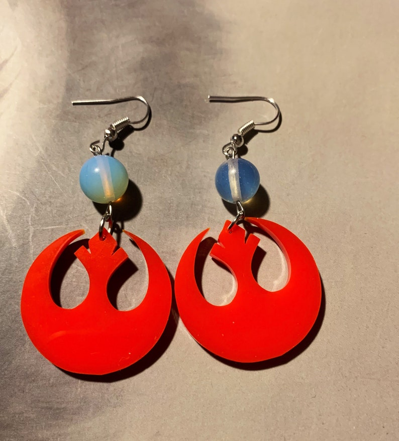 Join The Resistance Earrings image 0