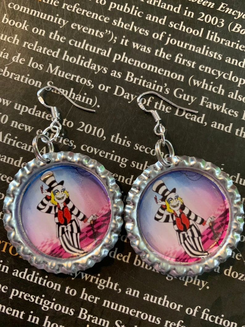 Its Showtime Beetlejuice Earrings image 0