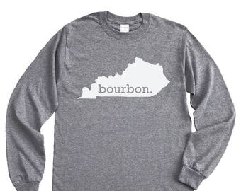 Homeland Tees Kentucky Bourbon Long Sleeve Shirt