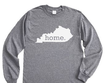 Homeland Tees Kentucky Home Long Sleeve Shirt