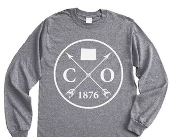 Homeland Tees Colorado Arrow Long Sleeve Shirt