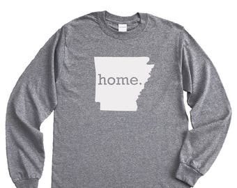 Homeland Tees Arkansas Home Long Sleeve Shirt
