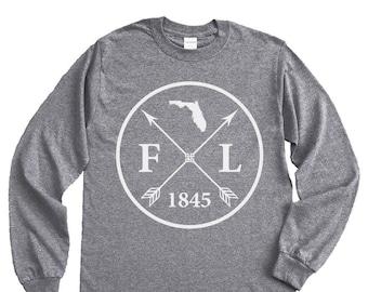 Homeland Tees Florida Arrow Long Sleeve Shirt