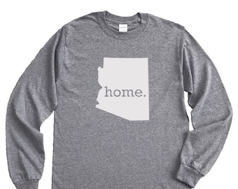Homeland Tees Arizona Home Long Sleeve Shirt