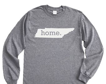 Homeland Tees Tennessee Home Long Sleeve Shirt
