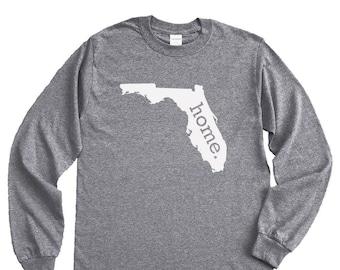 Homeland Tees Florida Home Long Sleeve Shirt