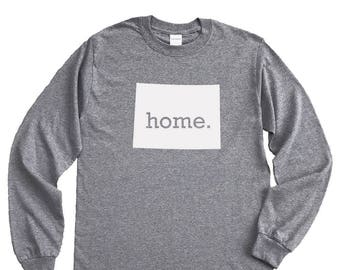 Homeland Tees Colorado Home Long Sleeve Shirt