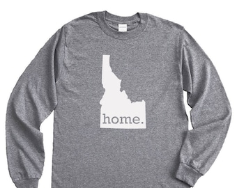 Homeland Tees Idaho Home Long Sleeve Shirt