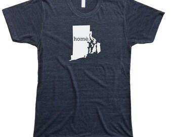 Homeland Tees Men's Rhode Island Home T-Shirt