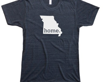 Homeland Tees Men's Missouri Home T-shirt