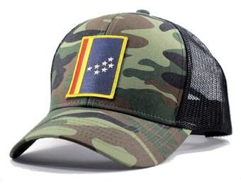 Homeland Tees Durham Army Camo Trucker Hat