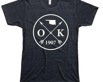 Homeland Tees Men's Oklahoma Arrow T-Shirt