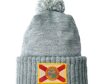 Homeland Tees Florida Flag Patch Cuff Beanie