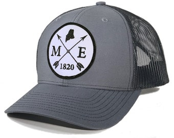 Homeland Tees Maine Arrow Patch Trucker Hat